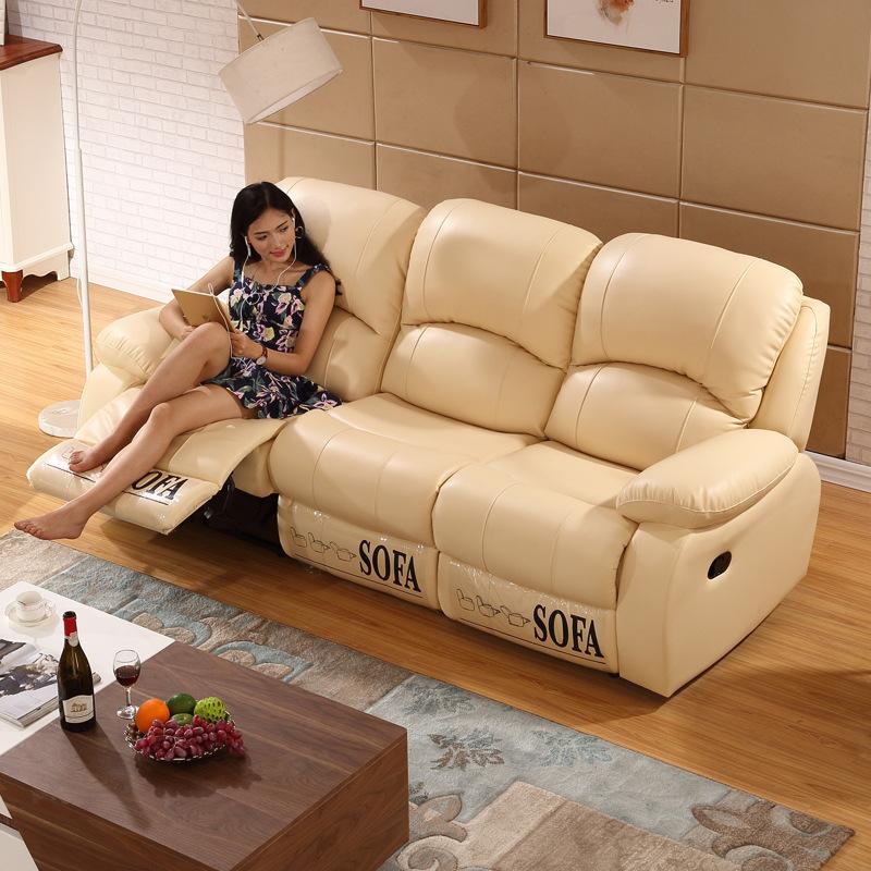 头等太空多功能舱三双人沙发真皮组合客现代家庭影院懒人电动躺椅