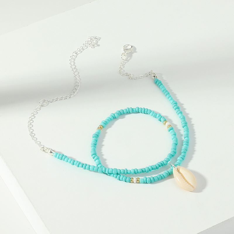 Womens shell alloy Necklaces NHNZ122066