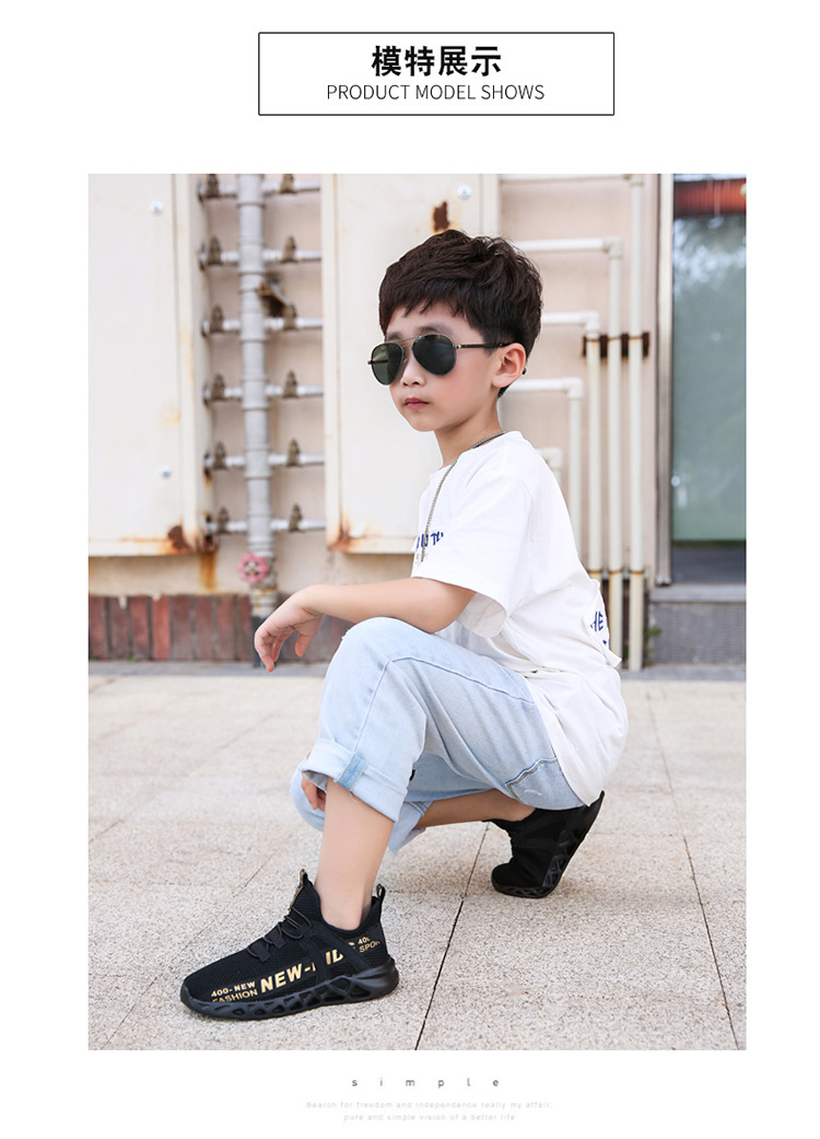 11277246679 1051559640 - Kid Running Sneakers Summer Children Sport Shoes Tenis Infantil Boy Basket Footwear Lightweight Breathable Girl Chaussure Enfant
