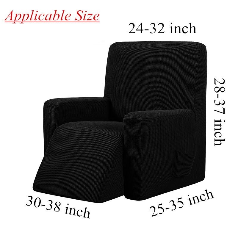 recliner chair cover size