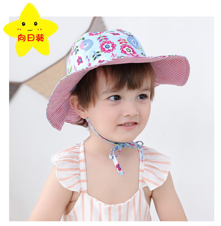 2019 New Style Baby Gift Boy Sun Hats Top Quality 100% Cotton Child Beach Hat Cartoon Shark Girl Bucket Hat 46cm 48cm 50cm 52cm Apparel Accessories Men's Bucket Hats