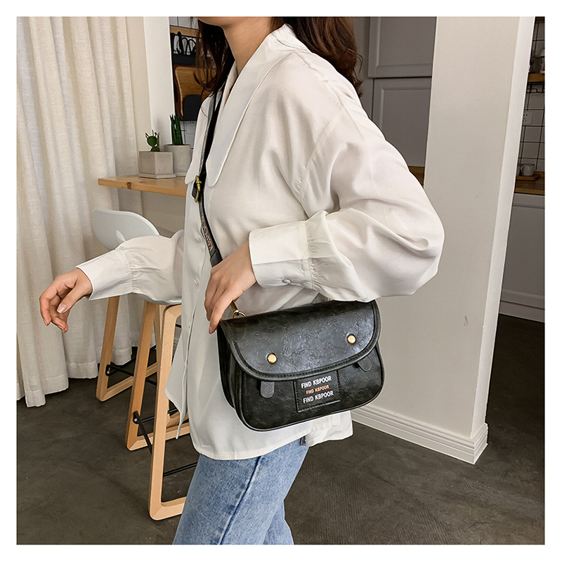 Korean version of the 2019 new bag women bag fashion wild flip shoulder bag women messenger pouch NHTC189288