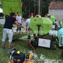 广东养殖牧草打捆包膜机 稻草喂牛养羊包膜机 自动化打捆机促销