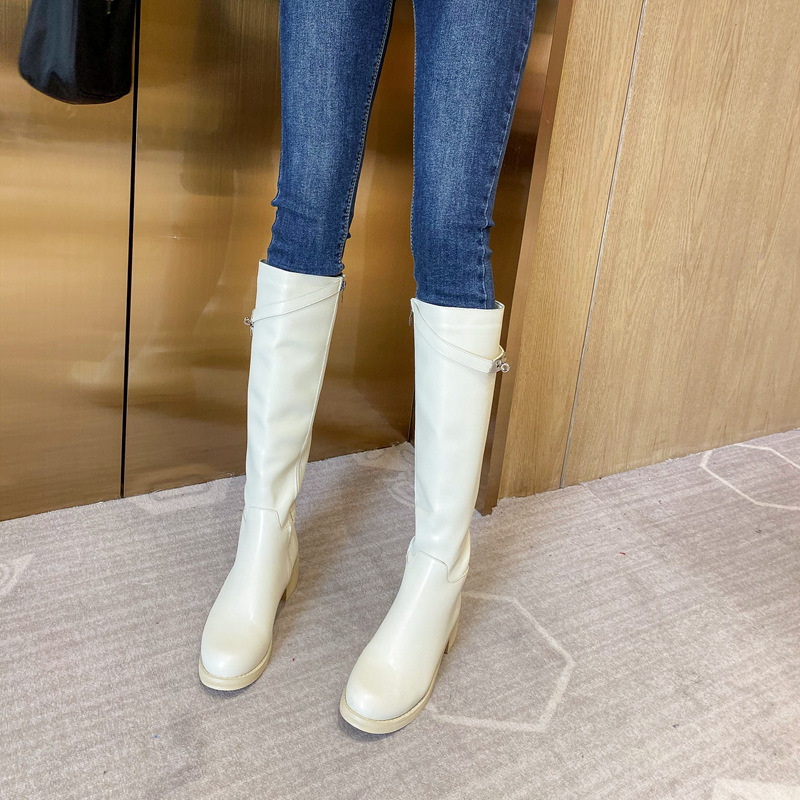 New high boots thick with long tube rider boots women's boots NHHU171584