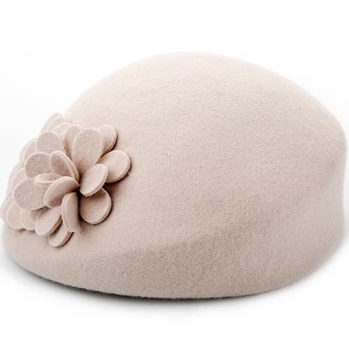 Party hats Fedoras hats for women female woollen cloth, Belle hat, wool water drop parquet wool top hat
