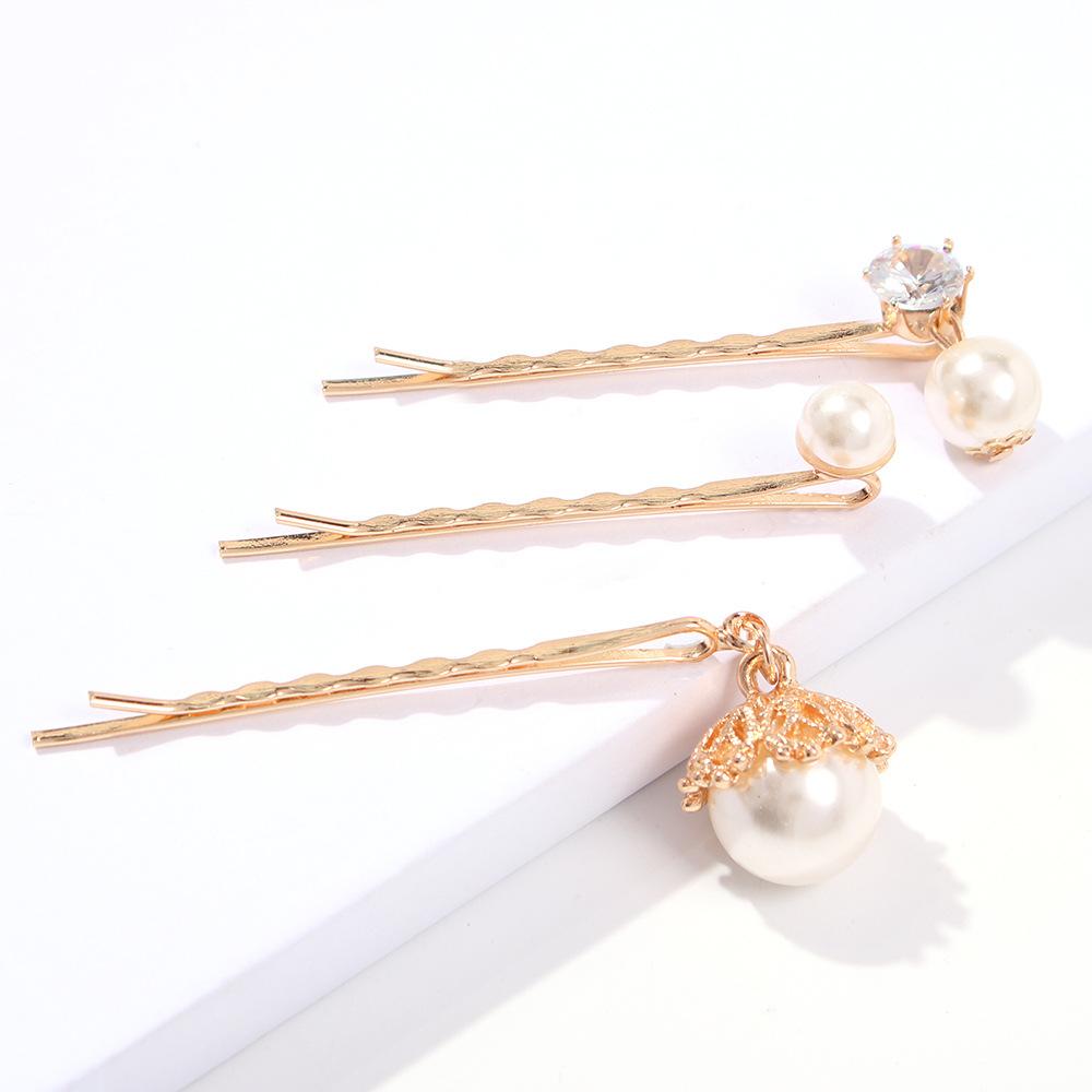 Fashion Beads Sun Irregular Metal Hair Clip NHMD129299