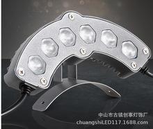 厂家直销led瓦楞灯 瓦片灯,高亮大芯片灯珠压铸铝外壳 保三年