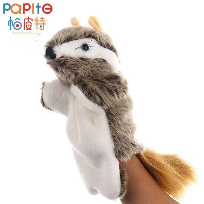 2019新款毛绒手偶动物造型田鼠毛绒玩具现货10个起批儿童益智教学