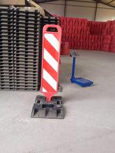 導流板警示板警示牌 橡膠分道體 塑料交通設施 警示板 橡膠警示板