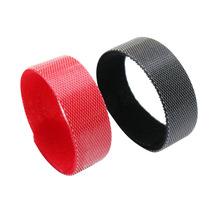 廠家供應彩色尼龍電壓魔術貼扎帶   防滑帶扣理線帶  9.9元5件