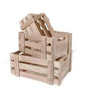 木质零食收纳盒 家居日用创意桌面整理小盒子 厂家定做?#30340;?#20648;物框