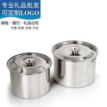 加厚不銹鋼調料罐味盅調料盆缸調味盒打蛋盆燉盅帶蓋盆奶茶奶精罐