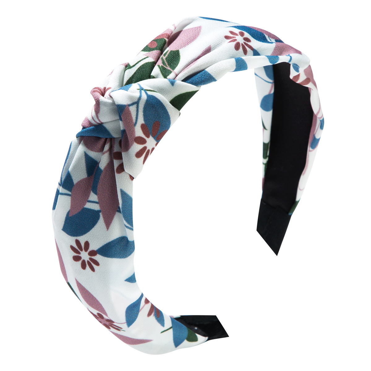 Korean version of floral fabric simple fashion bow wide-brimmed headband NHLN153434