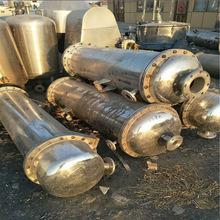 出售二手不銹鋼材質列管式換熱器 回流換熱不銹鋼散熱器現貨秒發