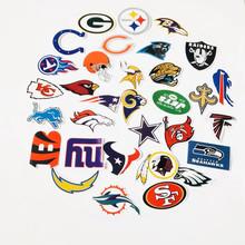 32張/套美式橄欖球聯盟對標汽車滑板車貼紙 冰箱頭盔行李箱貼