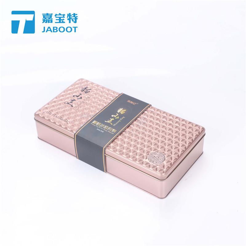 猫山王榴莲冰皮月饼铁盒休闲饼干马口铁盒玫瑰鲜花饼生产厂家