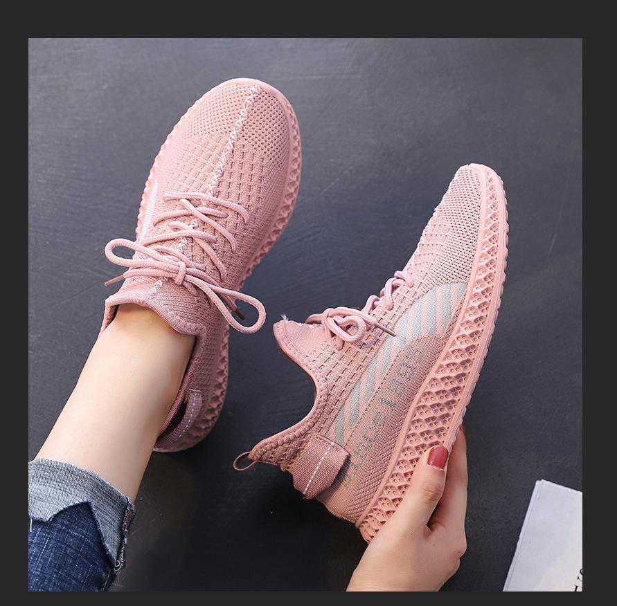 Chaussures de sport femme WANWO en Tissage volant - Ref 3421507 Image 1
