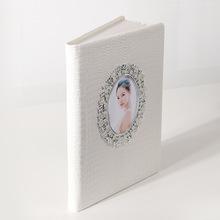 定制婚紗照相冊照片影樓結婚制作歐式制作書個人寫真皮質高端影集