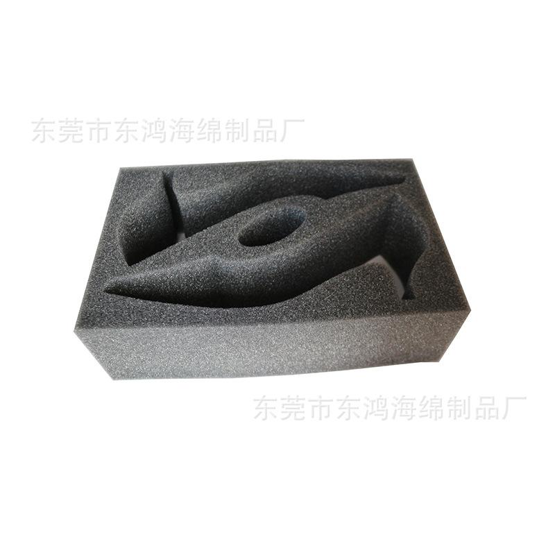 厂家定制加工海绵内衬防震减震包装内托海绵内衬定制来图来样加工