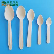 一次性樺木餐具一次性木質叉勺食品級木質刀叉勺可定制