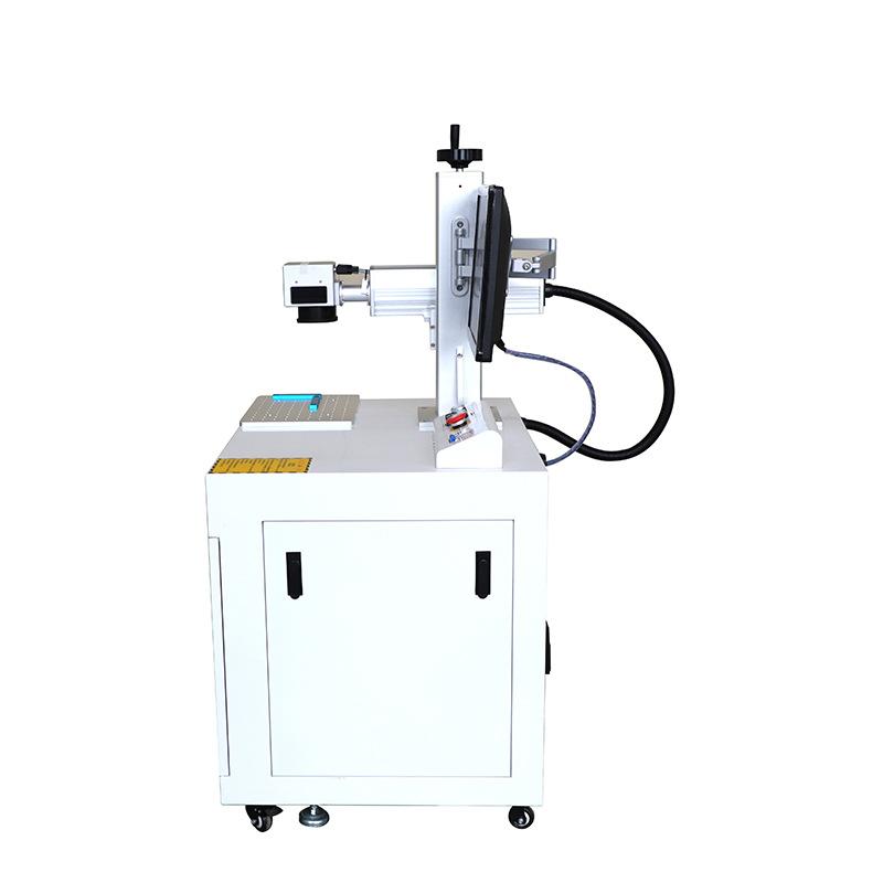 台式金属刻字机铭牌打码日期喷码机不锈钢打标机光纤激光打标机
