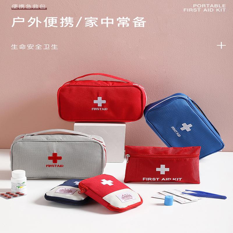 Bufanjia الأزياء السفر الطب تخزين حقيبة الوقاية من الأوبئة كيت الإسعافات الأولية الطب الانتهاء من تصنيف الحطام حقيبة تصنيف كبير
