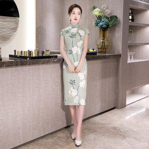 Chinese Dresses Qipao for women robe chinoise cheongsam Modern retro dress cheongsam