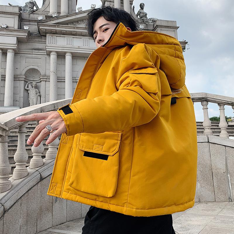 OBCY出口外贸厂家直销冬季新款男装棉衣潮流外套保暖加厚棉袄潮男