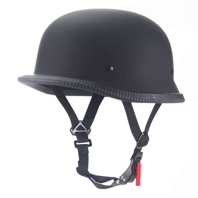 跨境复古个性夏季美式巡洋哈雷头盔经典大龟王电瓶踏板车半盔男女