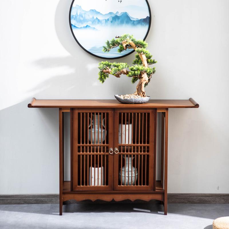 佛龛中式现代简约供桌实木佛台家用经济型佛桌供奉台客厅置物神台