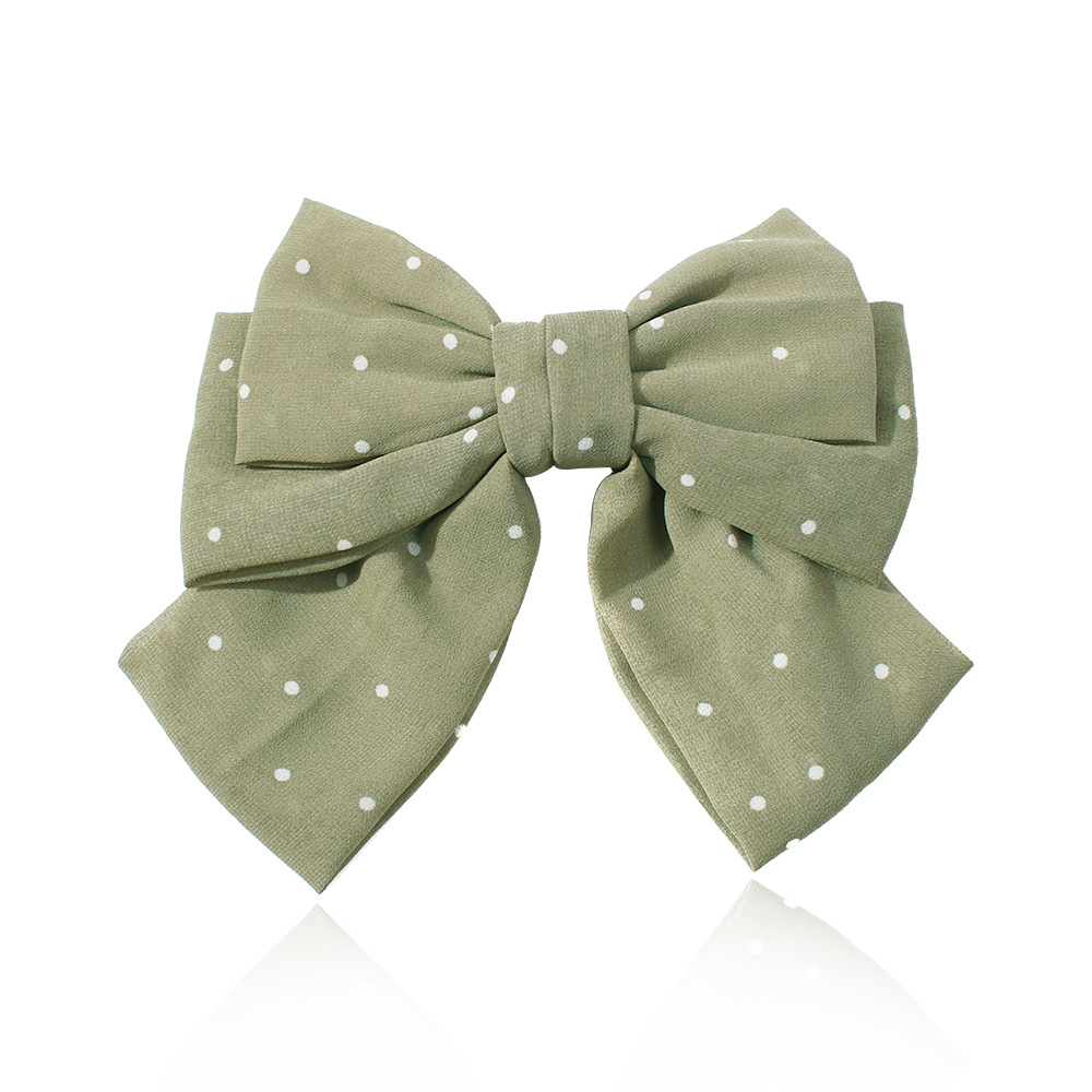 Korean New Product Oversized Bow Cheap Hair Clip Wholesale NHMD205252