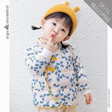 寶寶羽絨服女兒童一1歲2女童冬季輕薄秋冬外套嬰兒內膽女寶寶冬裝