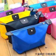 现货2020秋季新款韩版化妆包纯色小方包糖果色手拿包礼品包订制