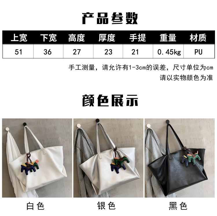new trendy fashion oneshoulder portable simple largecapacity womens handbags NHJZ247832