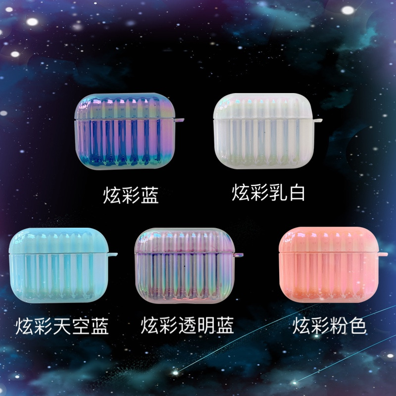 Korean style colorful luggage suitable for Airpods pro wireless Bluetooth headset Apple Airpods protective sleeve NHFI253379