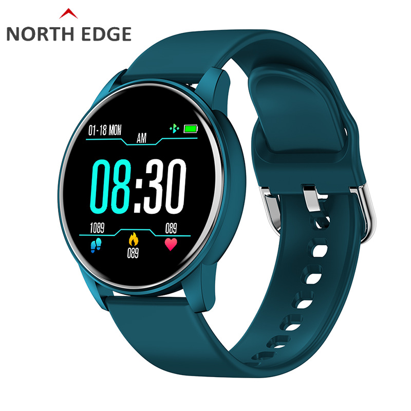 NORTH EDGE 2020 New Heart Rate Smart Watch Men Sport Watch