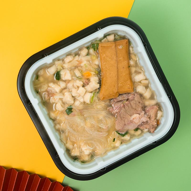 (单盒)刘一泡 自热羊肉泡馍陕西西安美食小吃一盒装210g
