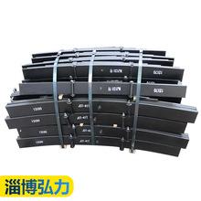廠家定制弓子板 汽車彈簧鋼板 掛車配件板簧 重型掛車鋼板彈簧