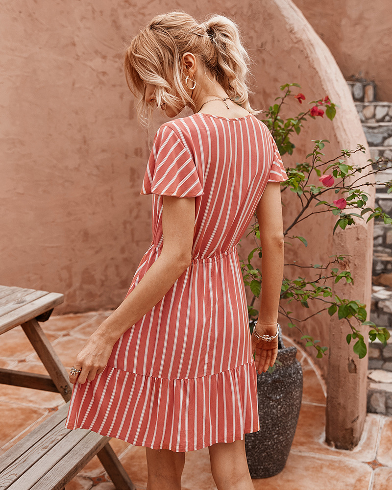 women's summer new striped sexy skirt NSKA986