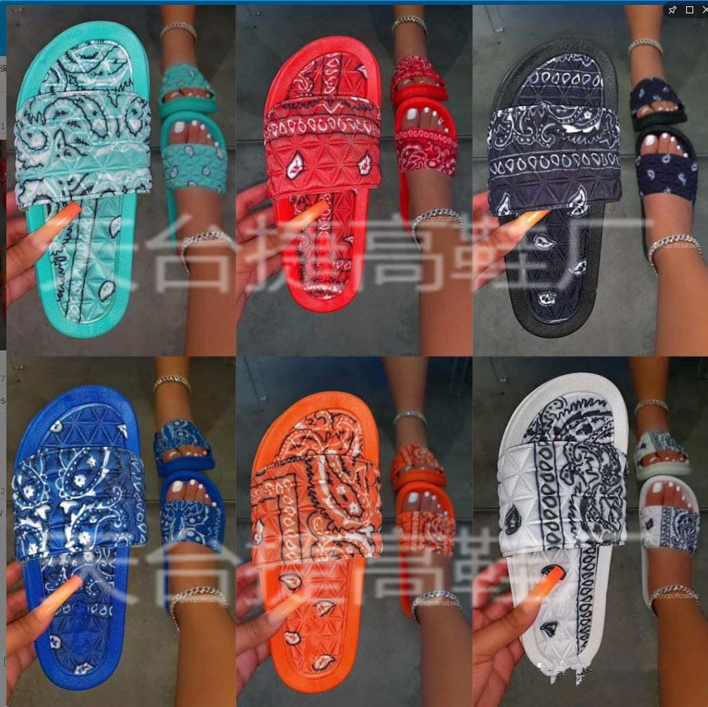 Foreign trade explosion models slippers...
