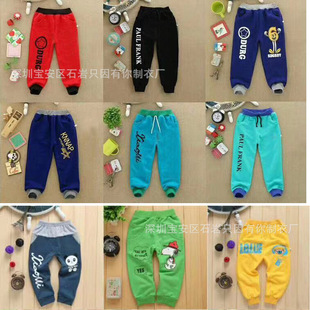 Children's clothing wholesale 1-5 yuan autumn clothing wholesale New style children's trousers, send recording 9.9 one on behalf of the factory