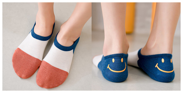 Spring Candy-colored Socks Cotton Cartoon Puppets Korean College Socks NHER206449