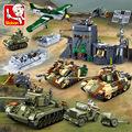 现货0859小鲁班0852-61二战系列小颗粒拼装智力积木玩具兼容乐高