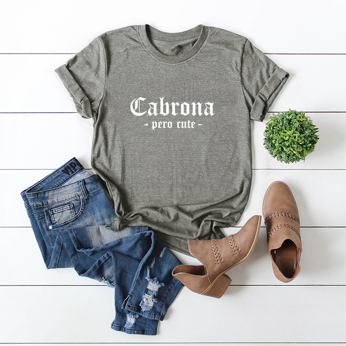 hot letter printing comfortable casual short-sleeved T-shirt WHOLESALE NSSN316
