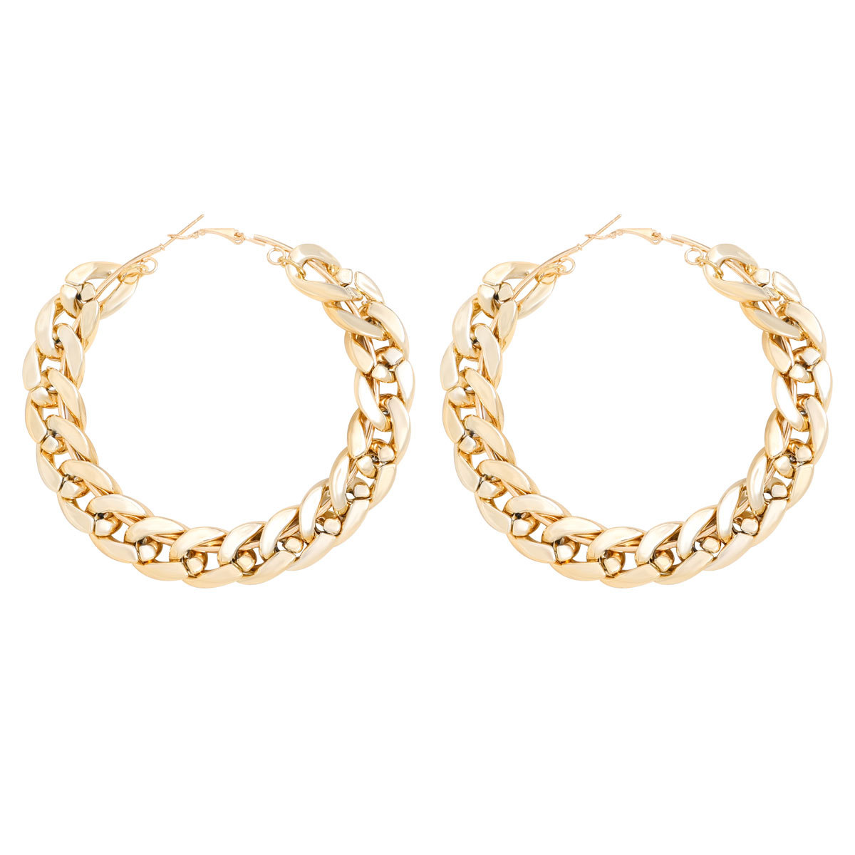 fashion new circle simple style earrings wholesale  NHJE240264
