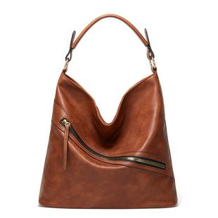 Fashion female bag 2020 summer new bag diagonal cross retro bucket bag shoulder bag large capacity portable shopping bag