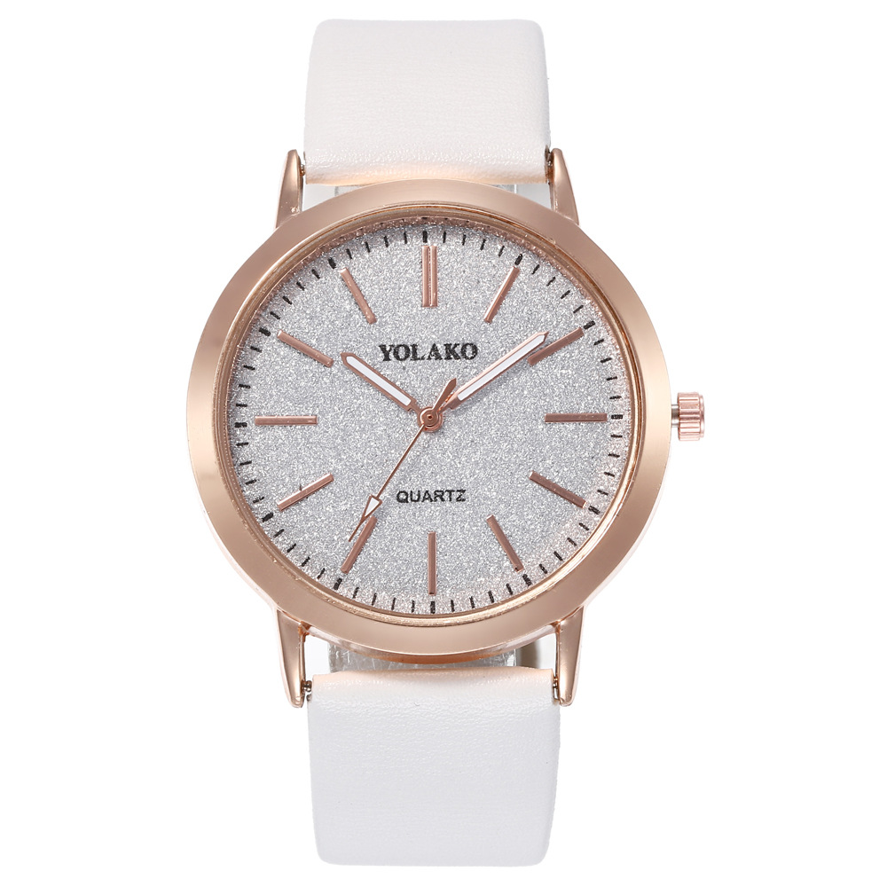 Popular Watch Simple Leisure Watch Frosted Up Quartz Watch