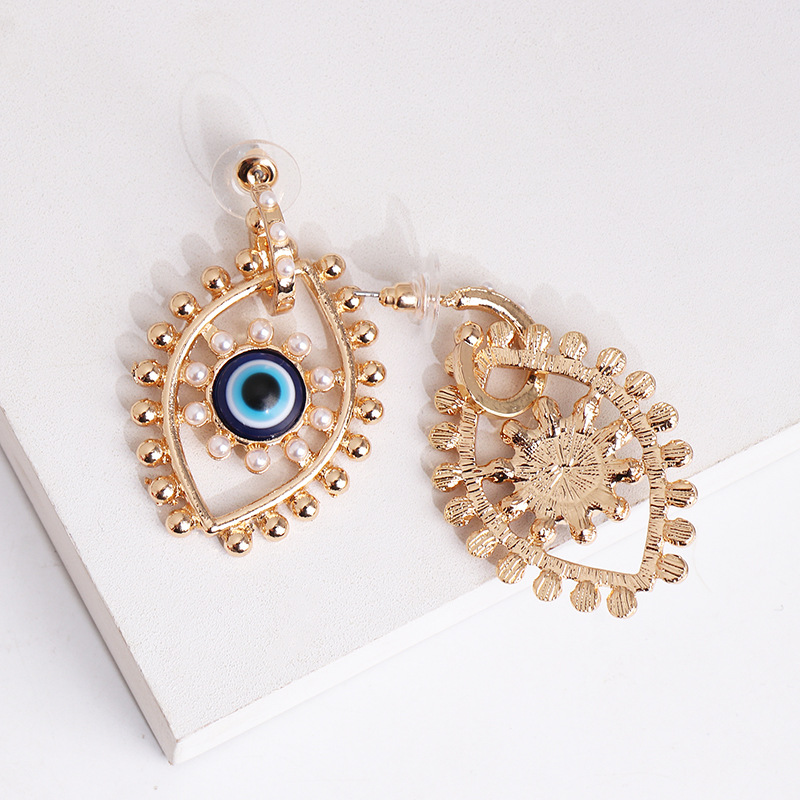 Hot earrings new fashion earrings big eyes earrings exaggerated earrings women NHJJ200926