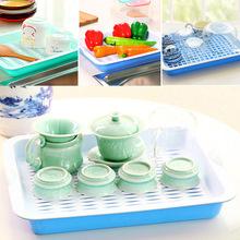 长方形双层沥水托盘塑料育苗盘 家用客厅茶几水果收纳篮厂家直销