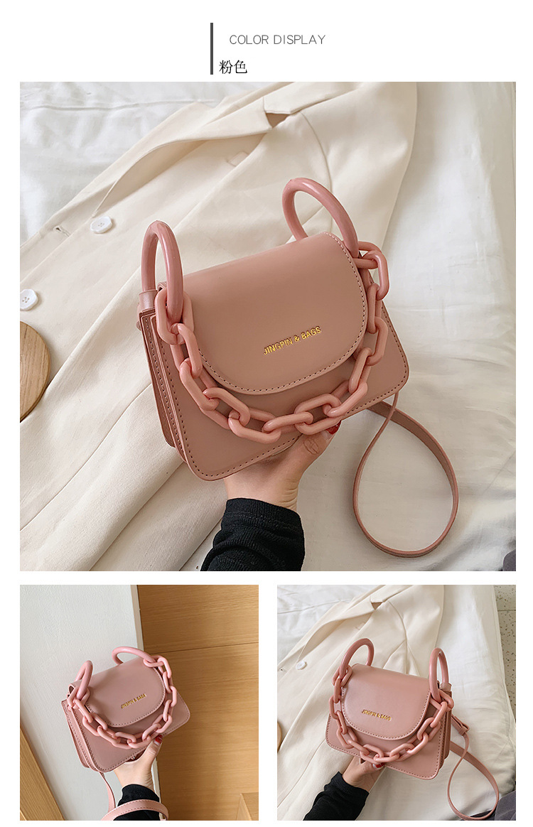 Bag diagonal female handbag wholesale yiwu nihaojewelry new handbag shoulder bag messenger bag NHTC210260